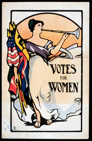 Votes for Women copyright free image