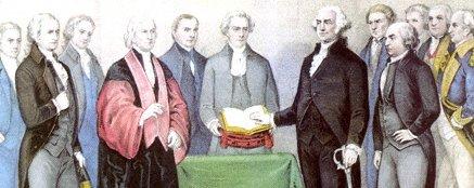 date oath taking of american president