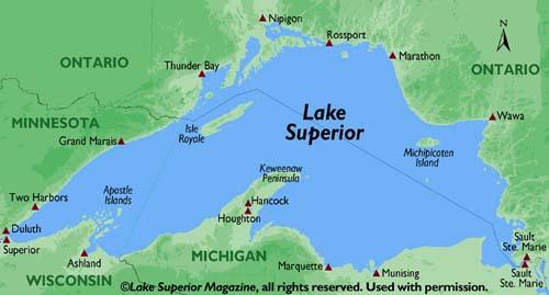 Lake uperior